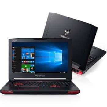 "Notebook Gamer Acer Intel Core i7 6ª Geração 16GB 1TB 128GB SSD Predator G9-792-79VK 17,3"" Full HD Placa de Vídeo NVIDIA GeForce GTX 980M 8GB Windows"