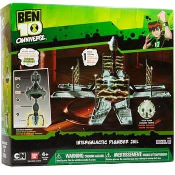 Boneco Playset Pequenos Encanadores Ben 10 - Prisão - Sunny