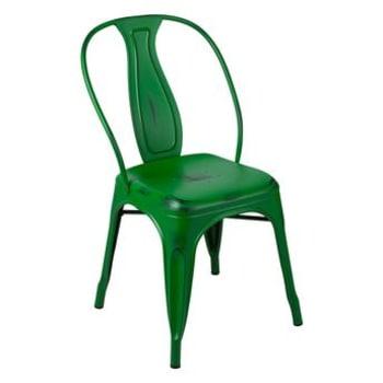 Cadeira Byhaus Tolix Vintage Verde