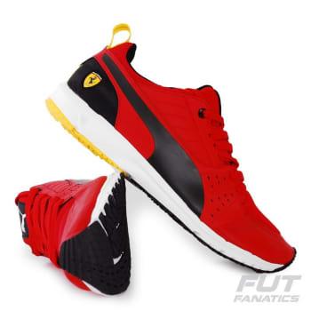 1676f4570 Tênis Puma Scuderia Ferrari Pitlane Night Cat Vermelho em Promoção ...