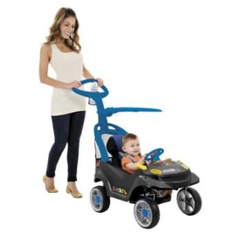 Miniveículo  Bandeirante Smart Baby Comfort 520 - Azul e Grafite