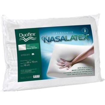 Travesseiro Duoflex Nasalátex 50x70 com 16 cm de Altura Duoflex
