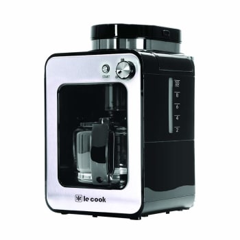 Máquina De Café Automática Com Moedor Le Cook, Le Cook, Lc1714, Preto E Inox