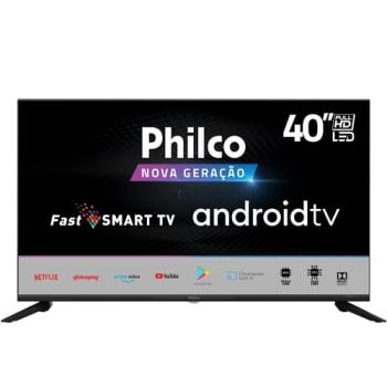 "Smart TV Full HD 40"" Philco PTV40G71AGBL Wi-Fi Bluetooth 4 HDMI 2 USB"