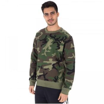 Blusão de Moletom Nike SB Crew Icon Camo Erdl - Masculino