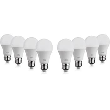 Kit Lâmpadas de LED 7W ON Eletrônicos Bulbo A60 8 unidades