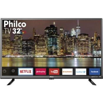 """Smart TV LED 32"""" Philco PTV32G50SNS HD Conversor Digital Integrado 2 HDMI 1 USB Wi-Fi com Netflix Áudio Dolby"""