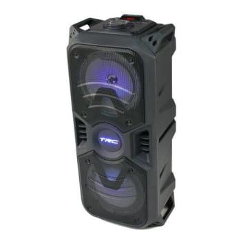 Caixa De Som Portátil Trc334 Bluetooth 150w Amplificada