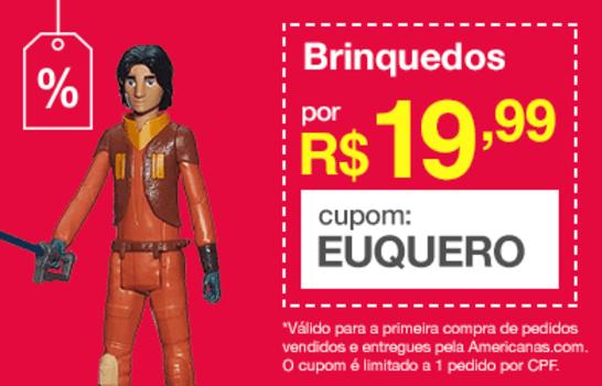 [Primeira Compra] Seleção de Brinquedos a partir de R$ 19,99