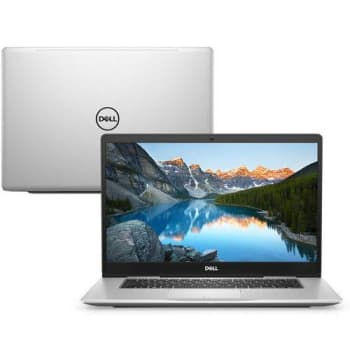 "Notebook Dell Inspiron Ultrafino I15-7580-u20s Intel Core I7 8GB 1TB MX150 2GB FHD 15.6"" Linux Mcafee"