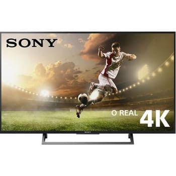 "Smart TV Led 55"" Sony KD-55X705E Ultra HD 4K Conversor Digital Integrado 3 HDMI 3 USB Wi-Fi"