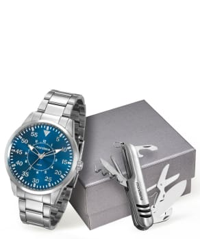 366e014f7 Kit Relógio Masculino Mondaine 53531G0MVNE2K em Promoção no Oferta ...