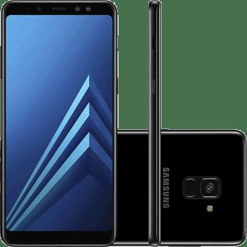 """Smartphone Samsung Galaxy A8+ 2018 64GB Dual Chip 4GB RAM Tela 6"""""""