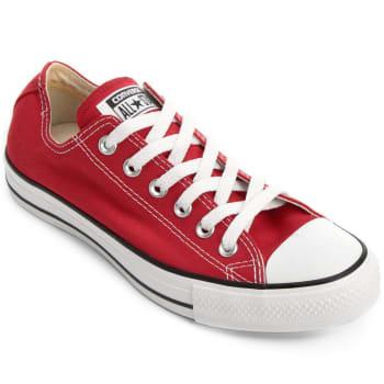 Tênis Converse All Star Ct As Core Ox - Vermelho e Preto