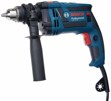 Furadeira de Impacto GSB 16 RE 220V + Maleta, Bosch 06012281E3-000, Azul