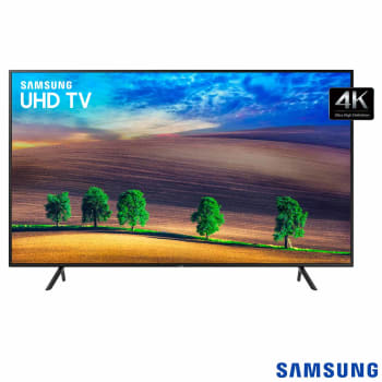 "Smart TV LED UHD 4K 43"" Samsung 43NU7100 3 HDMI 2 USB Wi-Fi HDR Premium"