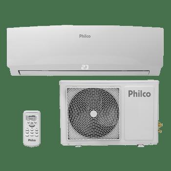 Ar-Condicionado Split Philco Hi Wall 18.000 BTUS PAC18000QFM6 Quente e Frio Branco 220V