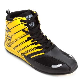 Tênis Pretorian Striker Masculino - Preto e Amarelo
