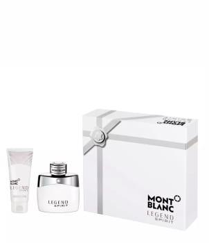 Kit Montblanc Legend Spirit Perfume Eau De Toilette 50ml + Loção Pós-Banho 100ml