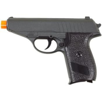 Pistola de Airsoft Spring Monotiro Galaxy PPK 6mm 200 FPS