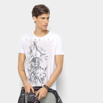 [Branco ou cinza] Camiseta Derek Ho Amazing Bodyart Masculina
