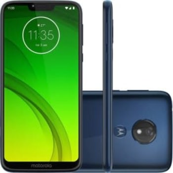"Smartphone Motorola Moto G7 Power 64GB Dual Chip Android Pie - 9.0 Tela 6.2"" 1.8 GHz Octa-Core 4G Câmera 12MP - Azul Navy"
