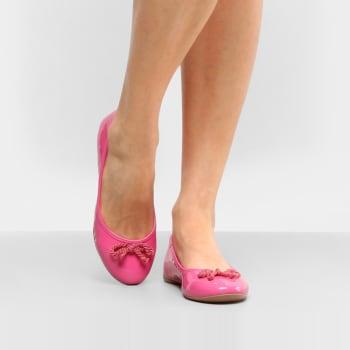Sapatilha Drezzup Laço Trançado Feminino - PinkSapatilha Drezzup Laço Trançado Feminino - Pink