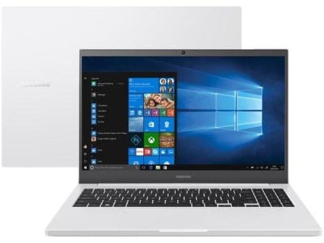 "Notebook Samsung Book NP550XDA-KT2BR Intel Core i3 - 4GB 1TB 15,6"" Full HD LED Windows 10 - Magazine Ofertaesperta"