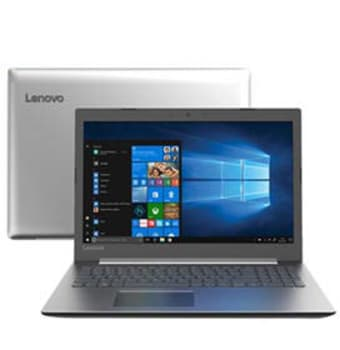 "Notebook Lenovo Intel Core i7 8550U 12GB 1TB Tela de 15.6"" NVIDIA GeForce MX150 IdeaPad 330 - 81FE000RBR"