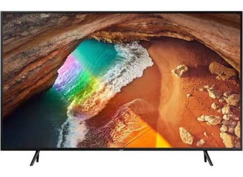 "Smart TV QLED 55"" Samsung Q60 Ultra HD 4K Modo Ambiente, Tela de Pontos Quânticos, Conversor Digital Integrado"