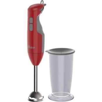 Mixer Oster Versatile Vermelho com Função Turbo