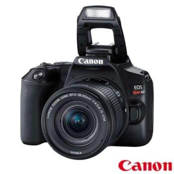 """Câmera Canon SL3 DSLR com 24.1MP, 3"""", Gravação em Full HD - EF-S 18-55MM"""