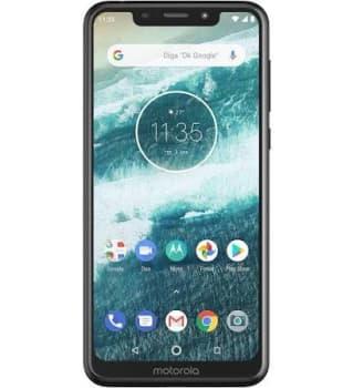 "Smartphone Motorola Moto One 64GB Black 4G Tela 5,9"" Câmera 13MP Selfie 8MP Dual Chip Android 8.1"