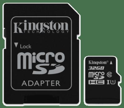 Cartão De Memória 32Gb Kingston Canvas Select