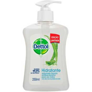 Sabonete Líquido para as Mãos Dettol Hidratante 250 ml