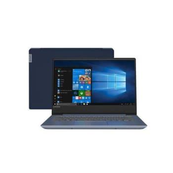 "Notebook Lenovo IdeaPad 330S i5-8250U 8GB 1TB Windows 10 14"" HD 81JM0000BR Azul"