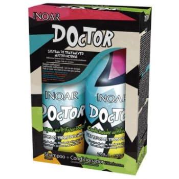 Kit Inoar Doctor: Shampoo 250ml + Condicionador 250ml - Produtos Multifuncionais: Hidratação, Nutrição e Reconstrução
