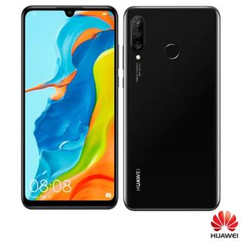 """Huawei P30 Lite Midnight Black, com Tela de 6,15"""", 4G, 128 GB e Câmera Tripla 24MP+8MP+2MP - MAR-LX3A - HWMARLX3APTO_PRD"""