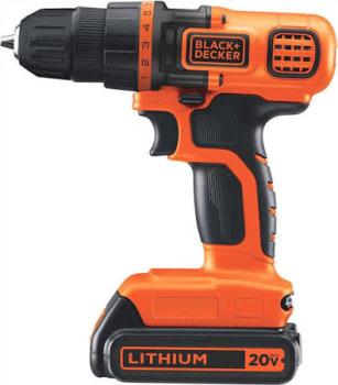 Parafusadeira/furadeira 20v Com Nivel A Laser Ld120l Black+decker