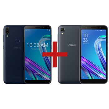 Zenfone Max Pro (M1) 4GB/64GB Preto + Zenfone Live (L1) Octacore Preto