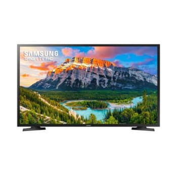 Smart TV LED 43 Polegadas Samsung 43J5290 Full HD com Conversor Digital 2 HDMI 1 USB Wi-Fi