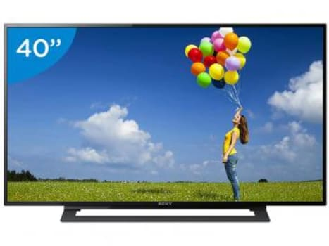"TV LED 40"" Sony KDL-40R355B Full HD - Conversor Integrado 2 HDMI 1 USB - Magazine Ofertaesperta"