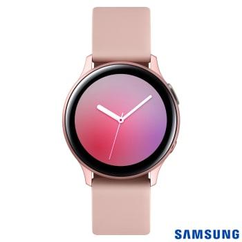 Galaxy Watch Active2 LTE 40mm (Alumínio) - Rosé (Pulseira Silicone)
