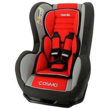 Cadeira para Automóvel Cosmo SP Agora até 25kg Vermelha Carmim Nania