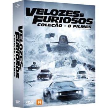 Coleção Velozes e Furiosos 8 DVDs