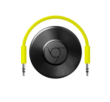 Google Chromecast Audio Hero Streaming (Cód: 9326697)