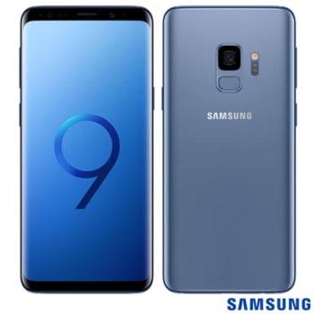 """Samsung Galaxy S9 Azul, com Tela de 5,8"""", 4G, 128 GB e Câmera de 12 MP - G960"""