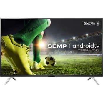 "Smart TV Led 43"" Semp 43s5300 Full HD Android Bluetooth Controle Remoto com Comando de voz Google Assistant"