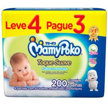 Toalhas Umedecidas Toque Suave MamyPoko Leve 4 Pague 3