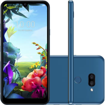 "Smartphone LG K40S Azul 32GB 3GB de RAM Tela de 6,1"" Octa Core Camera Dupla de 13MP e 5MP"
